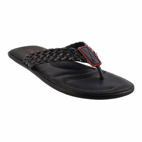 Black Men Mochi 60-8696 Casual Slipper, Rs 2990 /pair, Mochi The ...