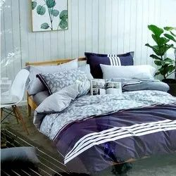 Sig. Lush Printed Double Bed Sheet