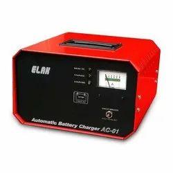 Elak AC-01 Automatic Battery Charger, Output Voltage: 12V