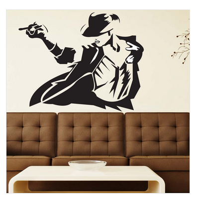 self adhesive michael jackson wall sticker, rs 479 /piece | id