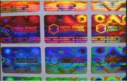 Hologram Printed Sticker