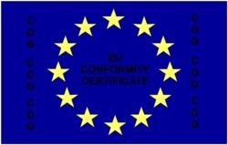 EU Certificate of Conformity/ EU CE Marking