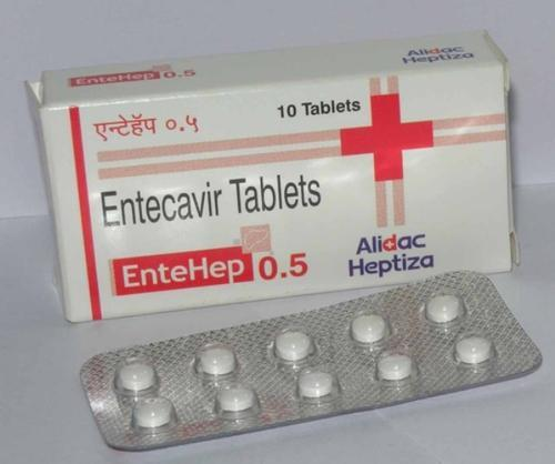 Entehep 0.5 Mg Tablet at Rs 600/strip | South Extension II | New Delhi| ID:  14160768330