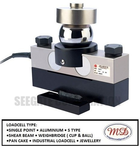 CUP & BALL TYPE India Adi Artech 70610 Loadcell