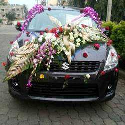 Car decorations car decoration services usha flower decorators car decoration junglespirit Choice Image