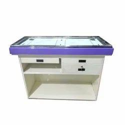 Rectangular Powder Coated Modular Mild Steel Office Table, For Restaurant