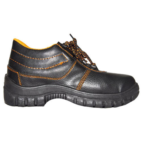 bb44e1fb3e3 Leather High Ankle Safety Shoes