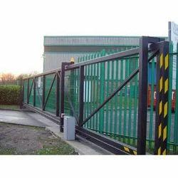 Remote Cantilever Sliding Gates