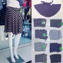 Short Lycra Cotton Ladies Skirt
