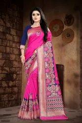 Ladies Modern Banarasi Silk Saree