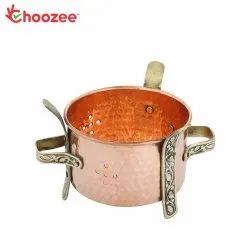 Choozee - Copper Brass Food Warmer Angeethi (Traditional Sigdi)