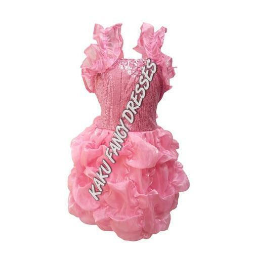 Girls Polyester Kids Barbie Girl Costume Rs 700 Piece Kaku Fancy