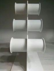 Acrylic Bangle Display Stand Three Line