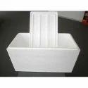 White Expended Polystyrene Foam Box, For Packaging Capacity 15-40 Litre