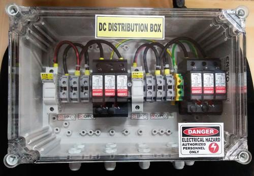 Solar Junction Combiner Box Dcdb 2 In 2 Out (with 1 Spd) (6 10kw)