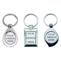 Printed Metal Keychains For Corporate Gifting