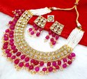 CL Jewellery handmade Kundan and duldul beads Imitation jewellery women necklace set