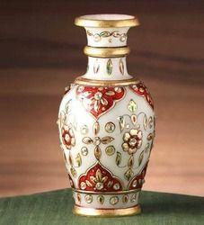 Marble Gold Foil Vases