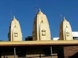 Cone Shape FRP Shikhar Temple