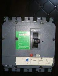 200ampere 230volt Mccb Electrical Switchgear, Breaking Capacity: 36KA