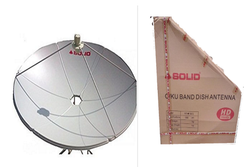 Solid Steel QTV DISH life time free, Size: 4 feet, 105