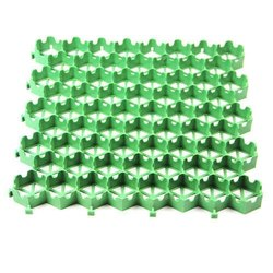 Honey Comb Standard Green Plastic Grass Pavers