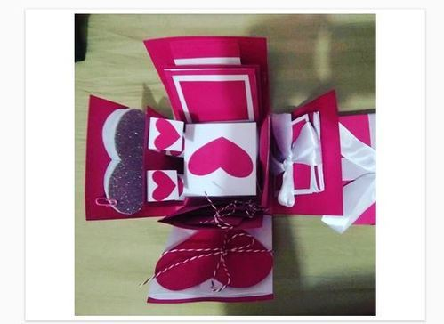 Gift Box Card Paper Craft
