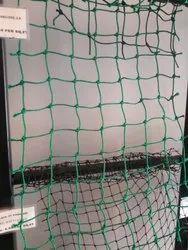 Green HDPE Cricket Net, Size: 11ft X100ft