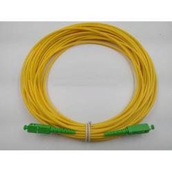 Simplex Singlemode SC-APC/SC-APC Fiber Optic Patch Cord
