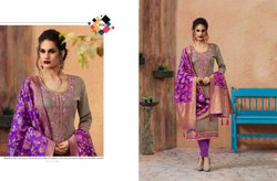 Kessi Virasat Series 3891-3900 Stylish Party Wear Silk Cotton Suit