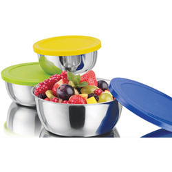 Stainless Steel Bowl Set, for Home