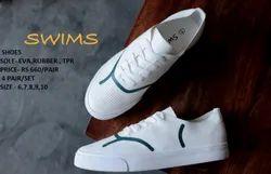 Mens White Sneaker Shoes
