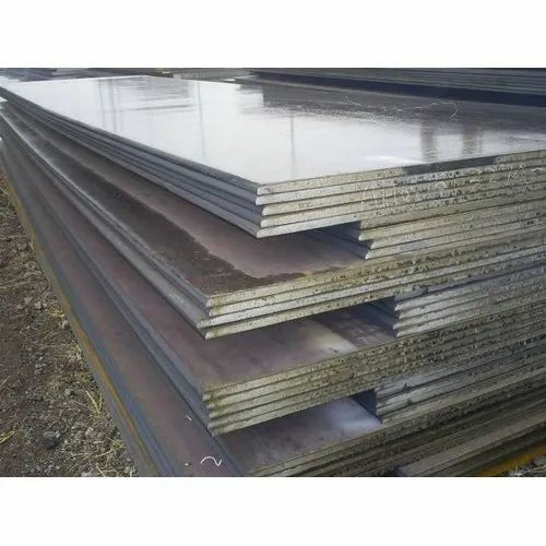 Rectangle Ms Mild Steel Plates, Thickness: 4-5 mm, For Fabrication Work