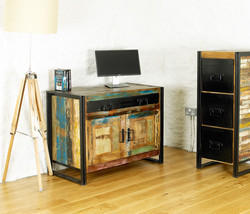 Reclaimed Wooden TV Unit, Wooden Sideboard