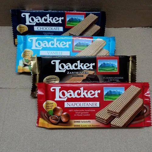 Snacks Loacker Chocolate Vanilla Napolitaner Distributor Channel Partner From Pune