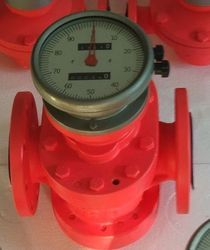 Mechanical Oval Gear Flow Meter