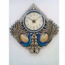 Analog Wood Plastic Wall Clocks for Home