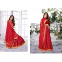 Bhoomi Red Aishwarya Saree