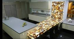 Natural Agate Kitchen Counter
