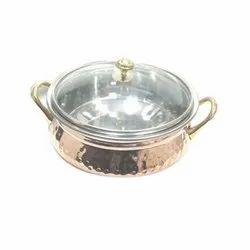 Copper SS Handle Handi for Hotel/Restaurant