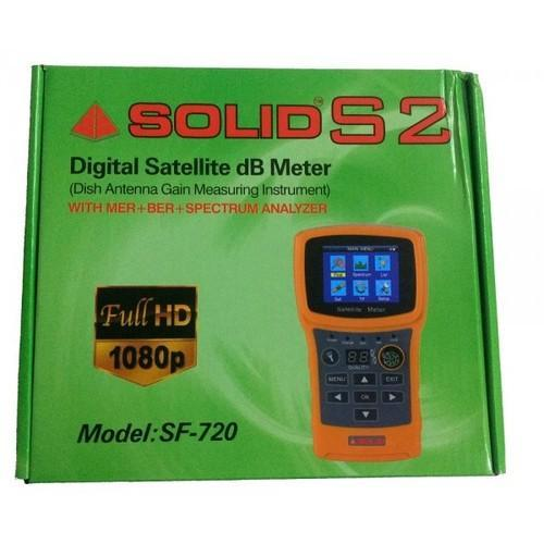 Solid Sf 720 Digital Satellite Finder Db Meter