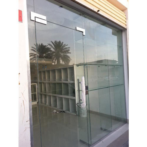 Front Glass Door Sizedimension 84 Feet Rs 750 Square Feet Id