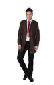 Cotton Blend Suiting Dheerajsharma Champion Brown Trench Coat