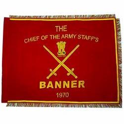 Military Regiment Banner Flag