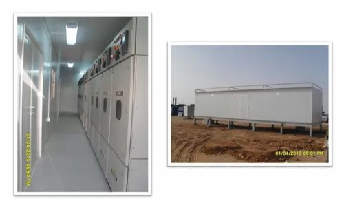 Containerized Solutions - MV & LV Switchgears Panels - Vidyut