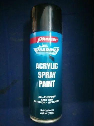 Pioneer Matte Black Spray Paint