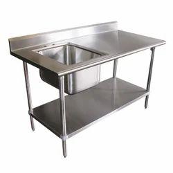 Single Sink Kitchen Table