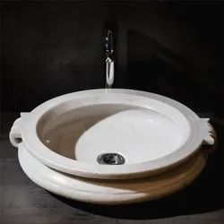 Capstona White Calicanto Wash Basin
