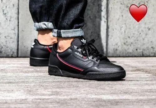ddbec590e10 Adidas Rubber Black Shoes For Men