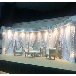 Crystal wedding stage manufacturers suppliers traders wedding stage with low back sofa junglespirit Gallery